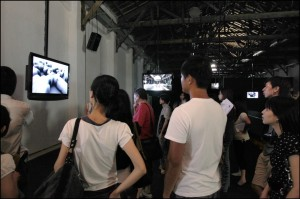 Synchronous Objects: Degrees of Unison installation at the Taipei Arts Festival